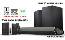 Nakamichi Shockwafe Elite 7.2Ch Atmos & DTS:X 800W Sound Bar System 2018