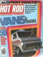 March 1976 Hot Rod Vans & Trucks Bracket Racing Toyota Project Pacer Part II