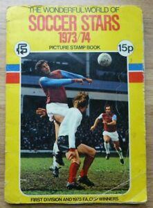 FKS Soccer Stars 1973/74 Album - Complete