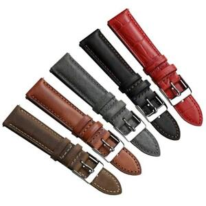 Crosby Padded Genuine Leather Quick-Release Watch Strap 20mm 22mm