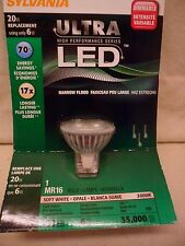 SYLVANIA Ultra LED Light Bulb Narrow Flood Dimmable 20W Replacement 12V Interior
