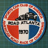 Sports Car Club Of America SCCA Road Atlanta 1970 Racing Patche - IMSA