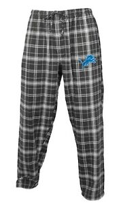 """Detroit Lions NFL """"Ultimate Goal"""" Men's Flannel Pajama Pants"""
