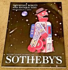 SOTHEBY'S IMPORTANT ROBOTS AND ANTIQUE TOYS, the F. H. Griffith collection
