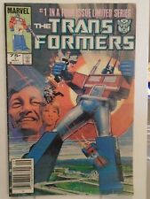Marvel Transformers #1 (1984) Autobots & Decepticons, Bill Mantlo