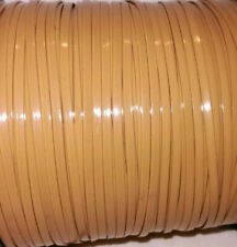 30 Yds Tan / Beige ~ Lanyard Rexlace ~ Sturdy Plastic Lacing for Leather Crafts