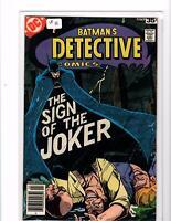Detective Comics 476 Sign Of The Joker! DC Comics VF Steve Englehart  Bronze Age