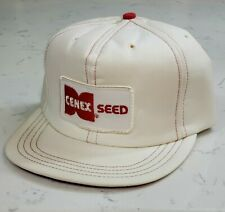 Vintage CENEX SEED Snapback Trucker Hat Patch Cap Made in the USA