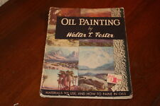 Oil Painting by Walter T. Foster Softcover