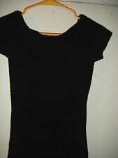 Prime Cut Black Sexy Cut Out Form Fitting Off Shoulder  Dress-One Size Fit All