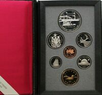 1991 ROYAL CANADIAN MINT DOUBLE DOLLAR PROOF SET