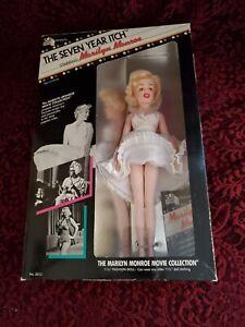 """VTG 1982 20th Century Fox The Seven Year Itch """"Marilyn Monroe"""" 11.5"""" Doll NIB"""