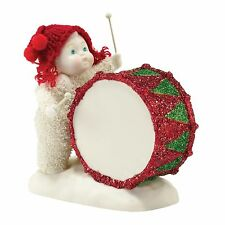 Dept 56 Snowbabies You've Got The Beat Baby Figurine Ornament 9.5cm 4031802 New