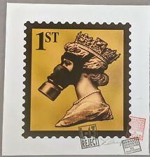 James Cauty, Stamp of Mass Destruction signed 1st class terror aware queen...