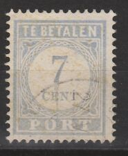 P53 Port nr 53 used NVPH Nederland Netherlands due portzegel