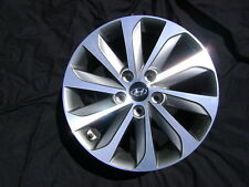 "Hyundai Sonata Sport 17"" 17x6.5 Polished Charcoal Factory OEM Rim Wheel & Cap"