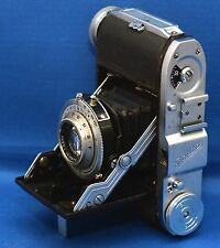 BALDA Baldinette Vintage Bellows Camera Baldanar f/3.5 50mm Lens WEST GERMANY
