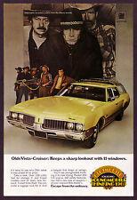 1969 Original Vintage Oldsmobile Vista Cruiser 1960s Car Photo Print AD
