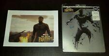 New Black Panther 4K UHD + Blu-ray/Digital Steelbook™ Bestbuy USA + Lithograph