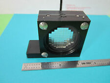 MICROSCOPE PART ZEISS GERMANY ILLUMINATOR DIFFUSER OPTICS AS PICTURED BIN#B6-03