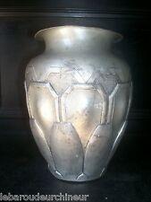 beau vase art déco art nouveau signé esté