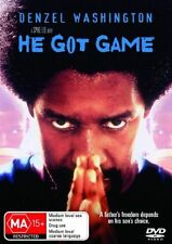 He Got Game (DVD, 2006) Denzel Washington - SPIKE LEE Movie