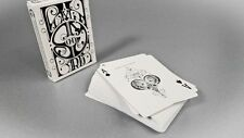 Smoke and Mirrors Deck - White - Dan and Dave Playing Cards - Magic Tricks - New