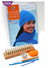 Kb Authentic Loom Knitting Board Basics Kit Kb4518