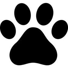 36 Pegatinas de impresión de la pata de perro Niño Decoración De Pared Arte Vinilo Dormitorio Calcomanía Parachoques