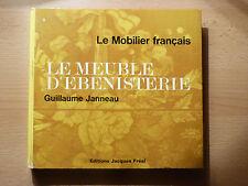 LE MEUBLE D'EBENISTERIE / GUILLAUME JANNEAU  / 1974