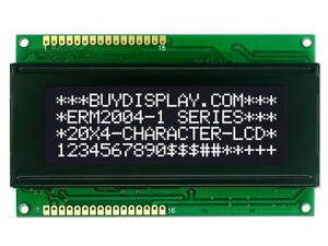 5V Black 20x4 Character LCD Module Display w/Tutorial,HD44780 Controller,Bezel