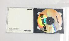 VTG Microsoft Flight Simulator 2000 PC Game 1999 2 Discs CIB