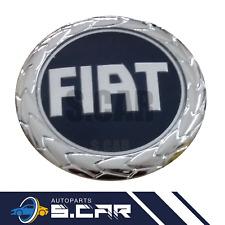 FREGIO LOGO STEMMA ANTERIORE BLU DIAMETRO 95 MM per FIAT GRANDE PUNTO IDEA PANDA