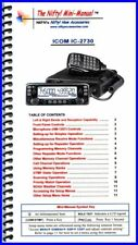 Nifty! Ham Radio Mini-Manual for the Icom IC-2730