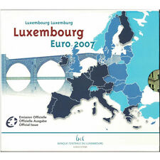 [#93533] Luxembourg, Euro Set of 10 coins, 2007