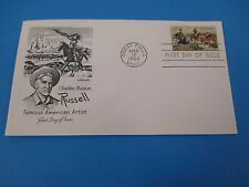 1964 Charles Marion Russell Famous American Artist Great Falls MT FDC S2947
