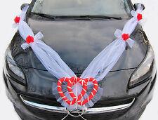 Girlande für Dekoration von Brautauto Hochzeit Autodeko Autoschmuck, AM001-16