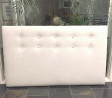 FUN BEDHEADS  King Size Button Upholstered Bedhead  RRP $950.00