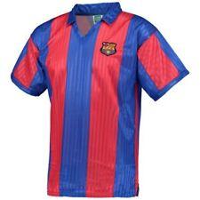 Camisetas de fútbol de clubes españoles para hombres rojo talla XL