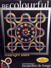 MIDNIGHT STARS Foundation Paper Piecing Quilt Pattern by Jacqueline de Jorge