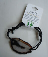 Brazilian AGATE BRACELET - US Seller - Natural Stone Fashion Jewelry - NEW A26