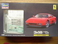 Hasegawa 1:24 Scale Ferrari 348tb Model Kit-New-Item 20230 w/- Photo Etched Part