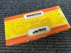 MANTUA HO Scale ALCO STEAM LOCOMOTIVE & TENDER 0-8-0  Model Train NOS in Box