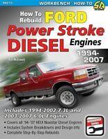 Ford Power Stroke Diesel Engine Rebuild Manual 6.0 7.3 1994-2007