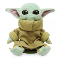 """The Child Baby Yoda Magnetic 5"""" Shoulder Plush of Star Wars The Mandalorian NWT"""