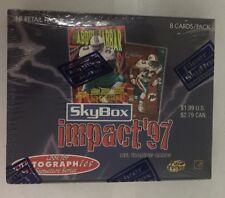 1997 Fleer Skybox Impact Factory Sealed Football Retail Box