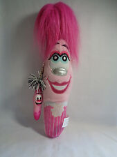 Kooky Bean Bag Plush Vikky #143 Hot Pink Hair w/ Key Ring Pen Babs