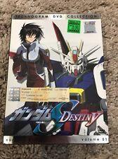 Mobile Suit Gundam Seed - Destiny Vol.1 (DVD, 2006)