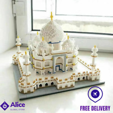 3950pcs Taj Mahal Architecture Model DIY Diamond Mini Building Blocks Bricks Toy
