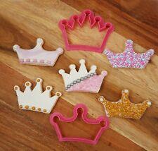 Crown Set Cookie / Fondant Cutter Queen Princess King Royals Royalty